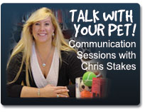 Chris Stakes, the animal communicator